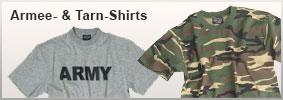 Armee- & Tarn-Shirts