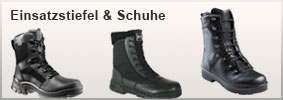 Einsatzstiefel &Schuhe