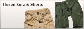 Hosen kurz & Shorts