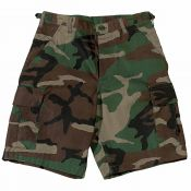US Combat Short, woodland