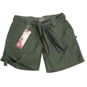 Army Shorts Woman, oliv