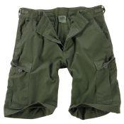 Shorts US Rip Stop, oliv washed
