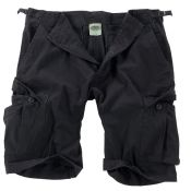 Shorts US Rip Stop, schwarz washed