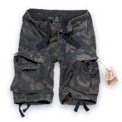 Shorts Vintage von Brandit, dark camo