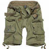 Shorts Savage Vintage von Brandit, oliv