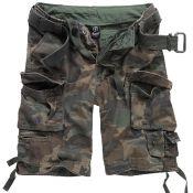 Shorts Savage Vintage von Brandit, woodland