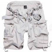 Shorts Savage Vintage von Brandit, old white