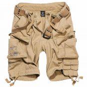 Shorts Savage Vintage von Brandit, beige