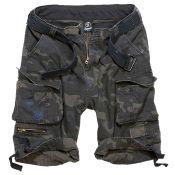 Shorts Savage Vintage von Brandit, darkcamo
