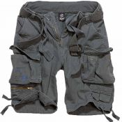 Shorts Savage Vintage von Brandit, anthrazit