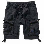 Pure Vintage Shorts von Brandit, schwarz