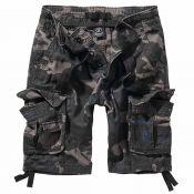 Pure Vintage Shorts von Brandit, dark camo