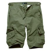 Shorts Gandor von Vintage Industries, oliv