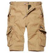Shorts Gandor von Vintage Industries, beige