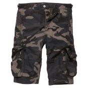 Shorts Gandor von Vintage Industries, dark camo