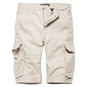 Shorts Rowing von Vintage Industries, bone white