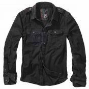Hemd Vintage von Brandit, schwarz