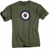 T-Shirt RAF, oliv