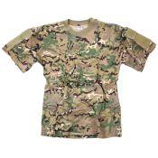 T-Shirt Tactical Pocket, Multicam