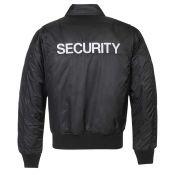 CWU Jacke Security, schwarz
