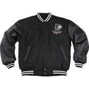 Baseball Jacke, schwarz