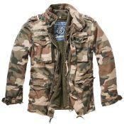 M65 Jacket Giant von Brandit, light woodland
