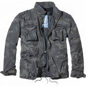 M65 Jacket Giant von Brandit, darkcamo