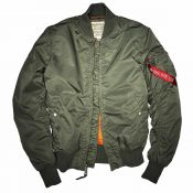 Alpha Damenjacke MA1 VF59, sage green
