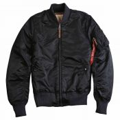 Alpha Damenjacke MA1 VF59, black