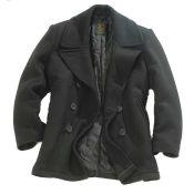 US Navy Pea Coat, schwarz