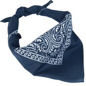 Halstuch Bandana, blau