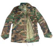 US Field Jacke M65 für Kinder, woodland