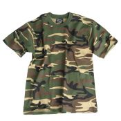 US Army Kinder-T-Shirt, woodland