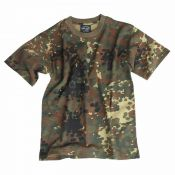 US Army Kinder-T-Shirt, flecktarn
