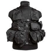 Tactical Weste, schwarz