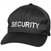 Security-Cap, schwarz