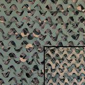 Tarnnetz Basic 3m x 3m von CAMO SYSTEMS, woodland