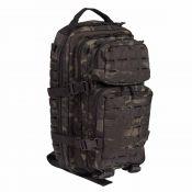 US Assault Pack SM, multitarn black