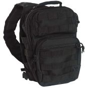 US Assault Pack One Strap smal, schwarz