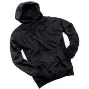 Kapuzen Sweatshirt, schwarz