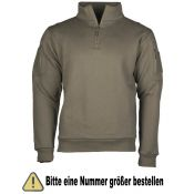 Sweatshirt Tactical, oliv