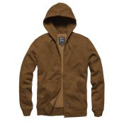 Hooded Zip Jacke Redstone von Vintage Industries, duck