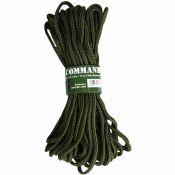 Commando-Seil, 15 Meter, Stärke 5mm, oliv