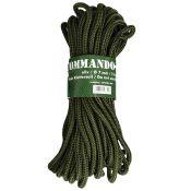Commando-Seil. 15 Meter; Stärke 7mm, oliv
