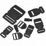 Buckle Set, schwarz