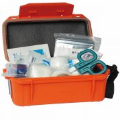 Erste Hilfe Set wasserdicht, orange