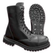 Phantom Boots 10 Loch von Brandit, schwarz