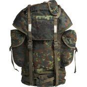 Original BW Kampfrucksack gebraucht, flecktarn