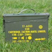 US Munitionskiste, klein, oliv