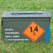 US Munitionskiste, mittel, oliv